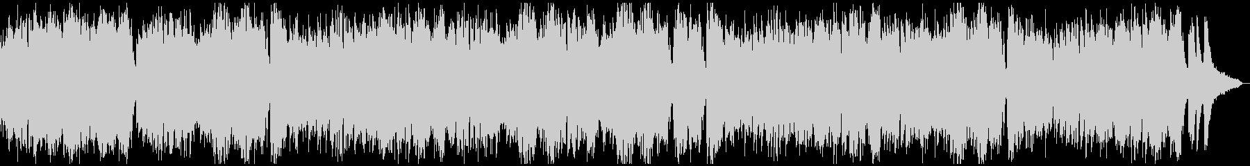現代音楽風タイムラプス用ピアノソロ7分の未再生の波形
