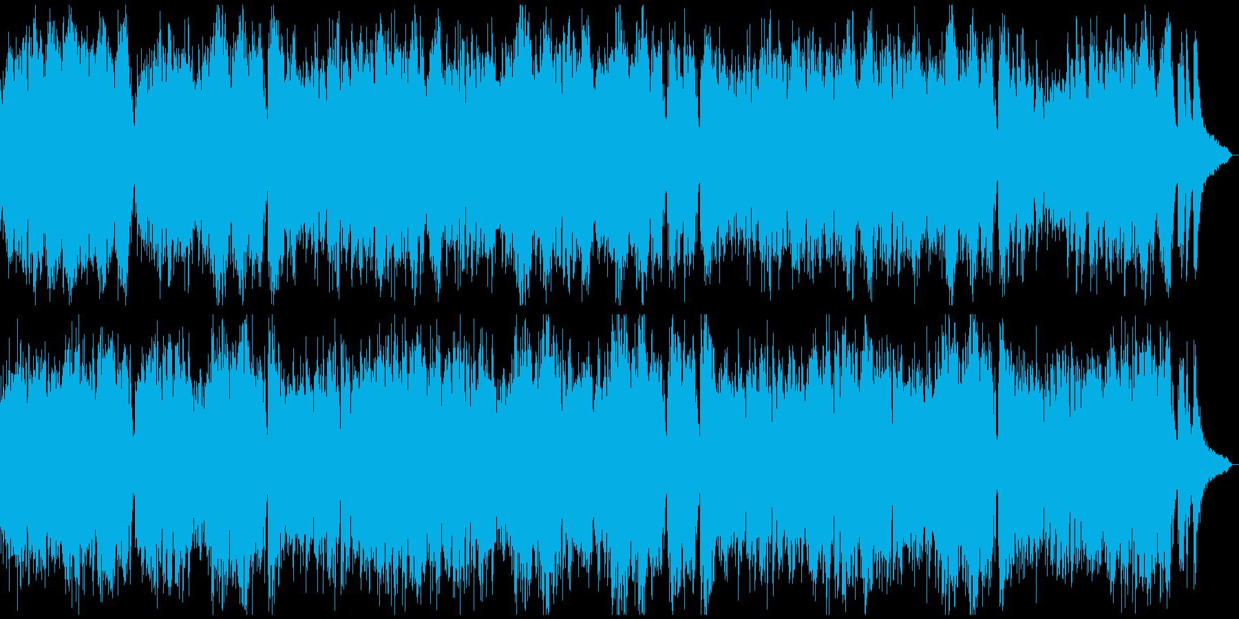 現代音楽風タイムラプス用ピアノソロ7分の再生済みの波形