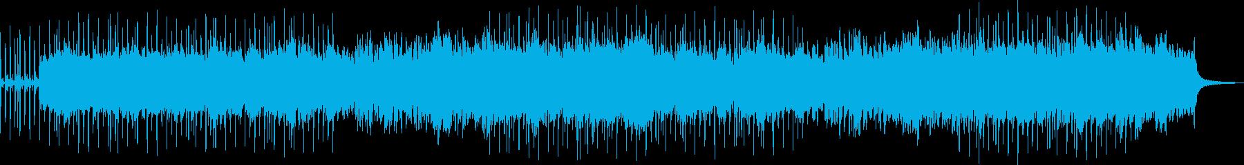 クリスマスっぽいBGMの再生済みの波形