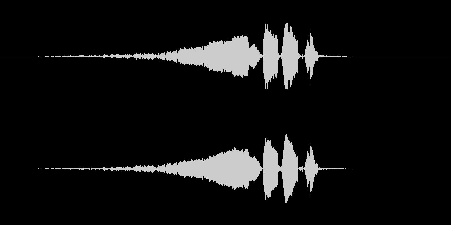 【ウグイス 合成01-3】の未再生の波形