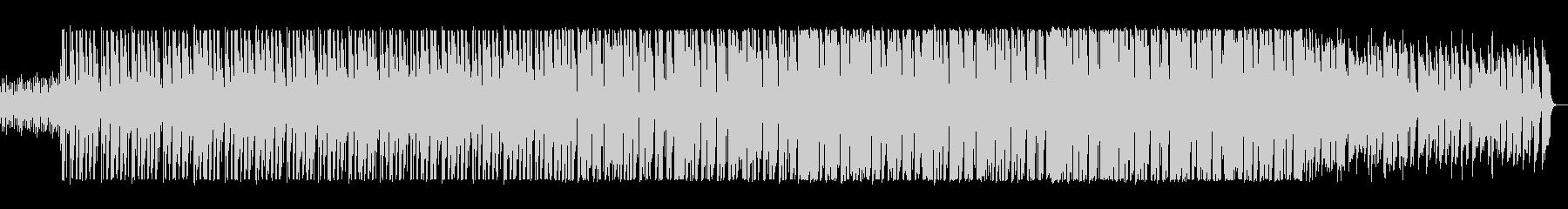 宇宙的な音が飛び交うポップスの未再生の波形