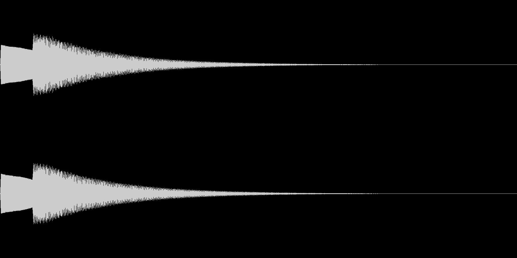 【正解01-1】の未再生の波形
