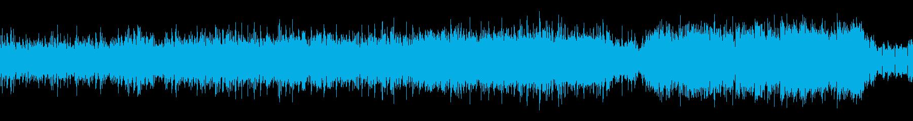 声フレーズの入ったバトル系の曲(ループ)の再生済みの波形