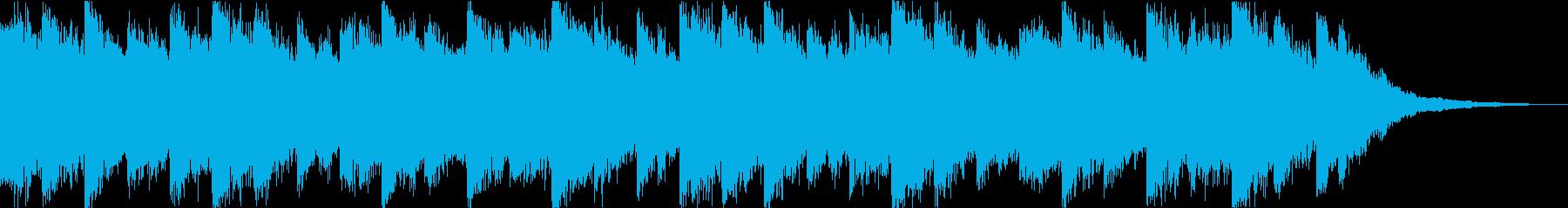 海中系のヒーリング曲 瞑想 癒しの再生済みの波形