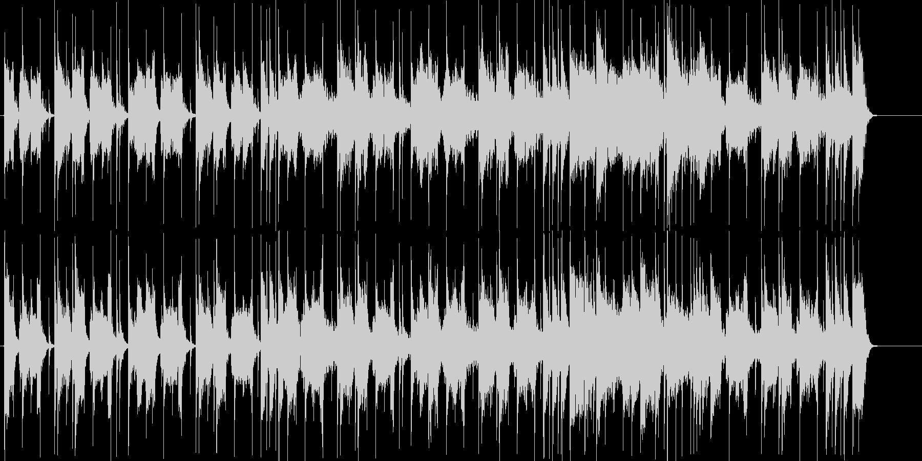 探索するイメージの怪しげなBGMの未再生の波形