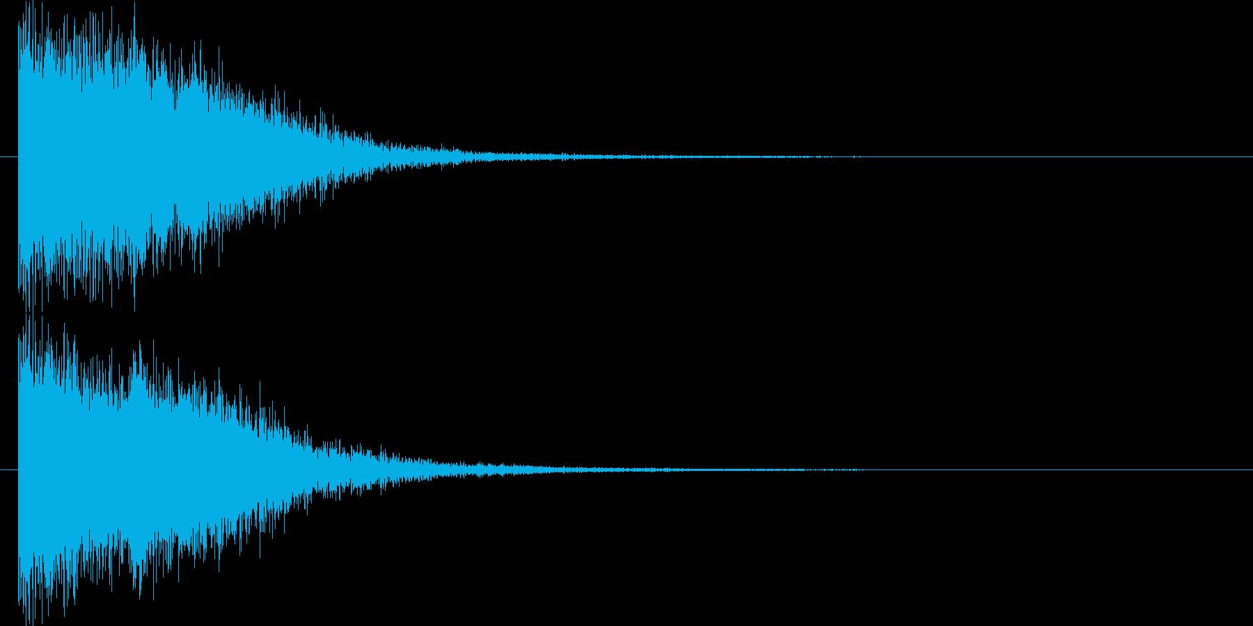 [ピュイーン] 決定 (可愛く華やか)の再生済みの波形