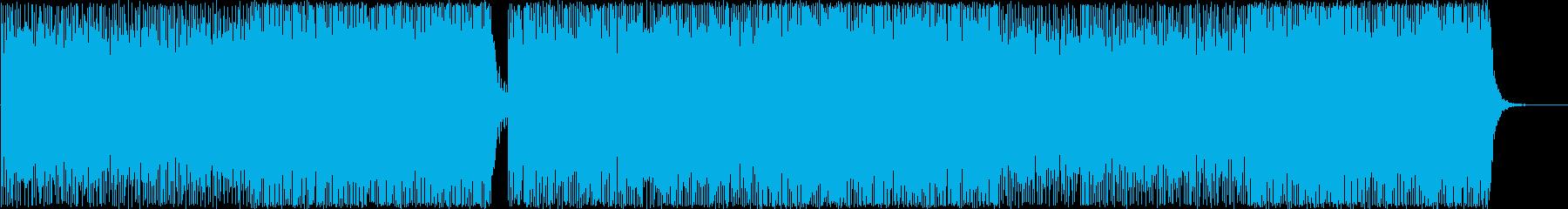 エレクトロニックポップBGM(Voなし)の再生済みの波形