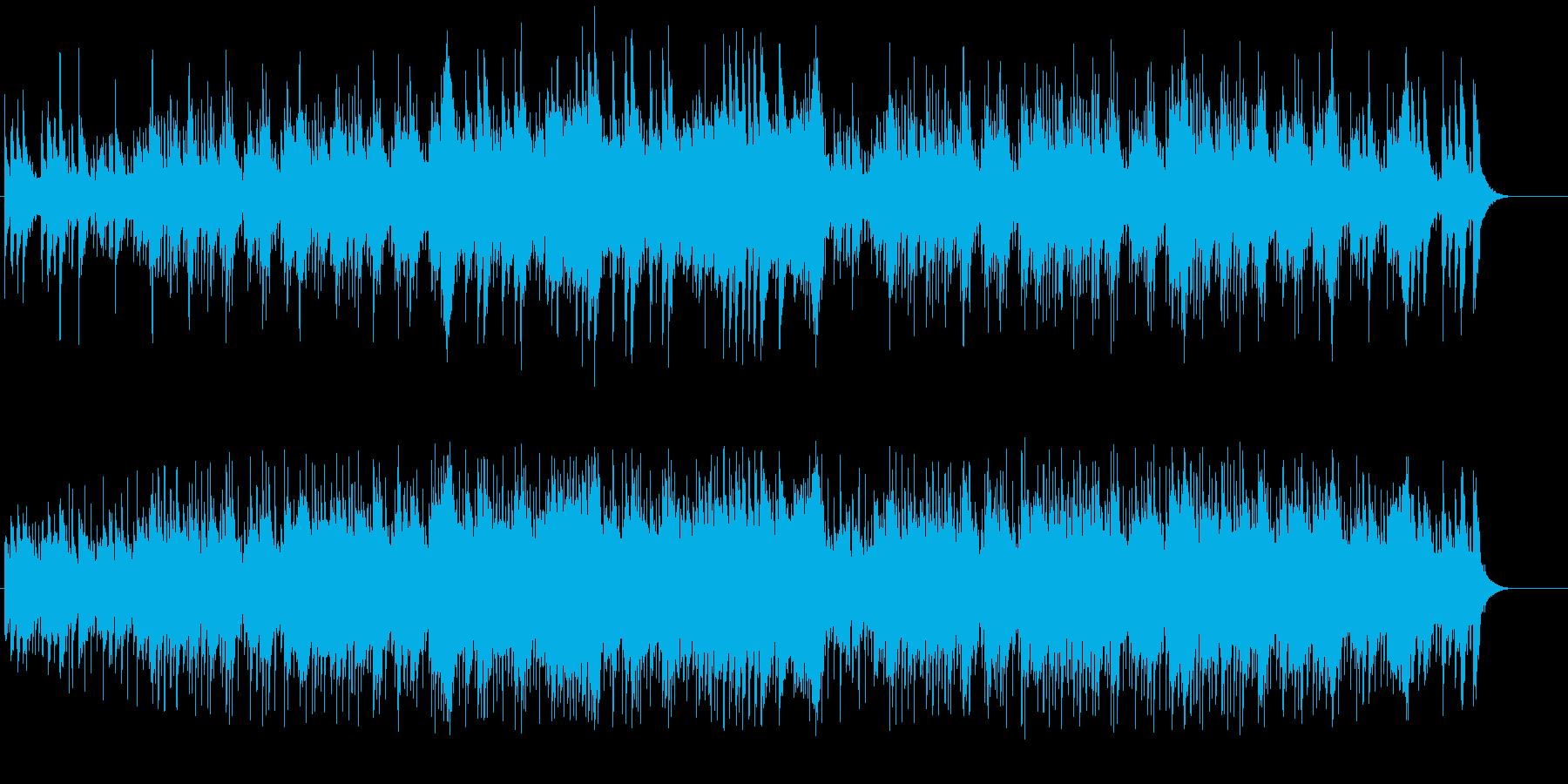 マリンバによる清涼感溢れた繊細なポップスの再生済みの波形