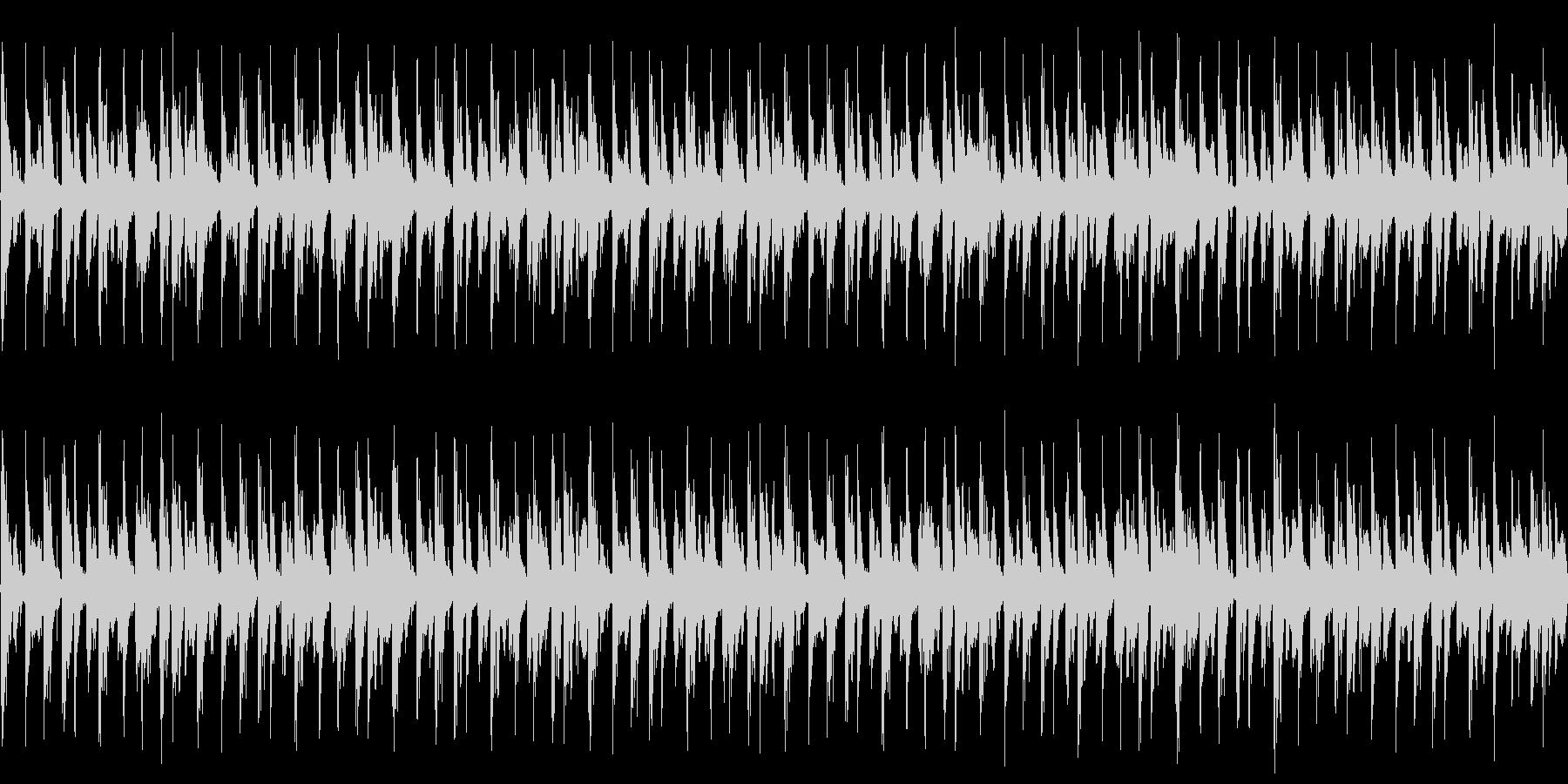 BGM用ループ音源の未再生の波形