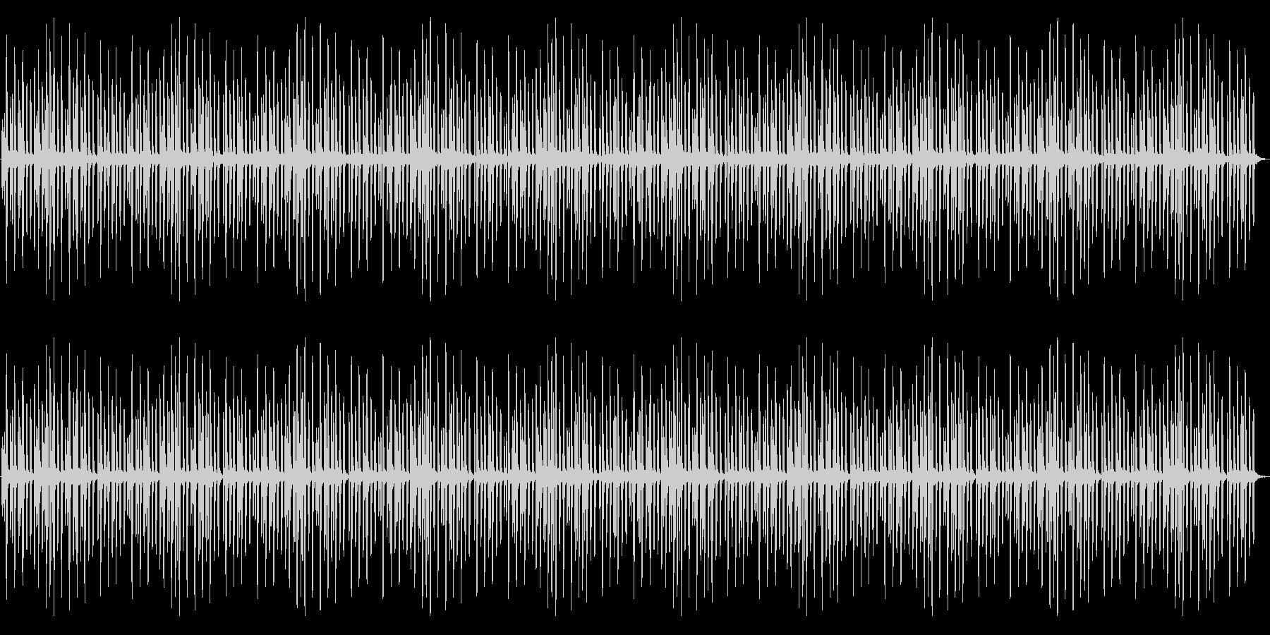 マリンバ音色による、とても可愛いメロディの未再生の波形