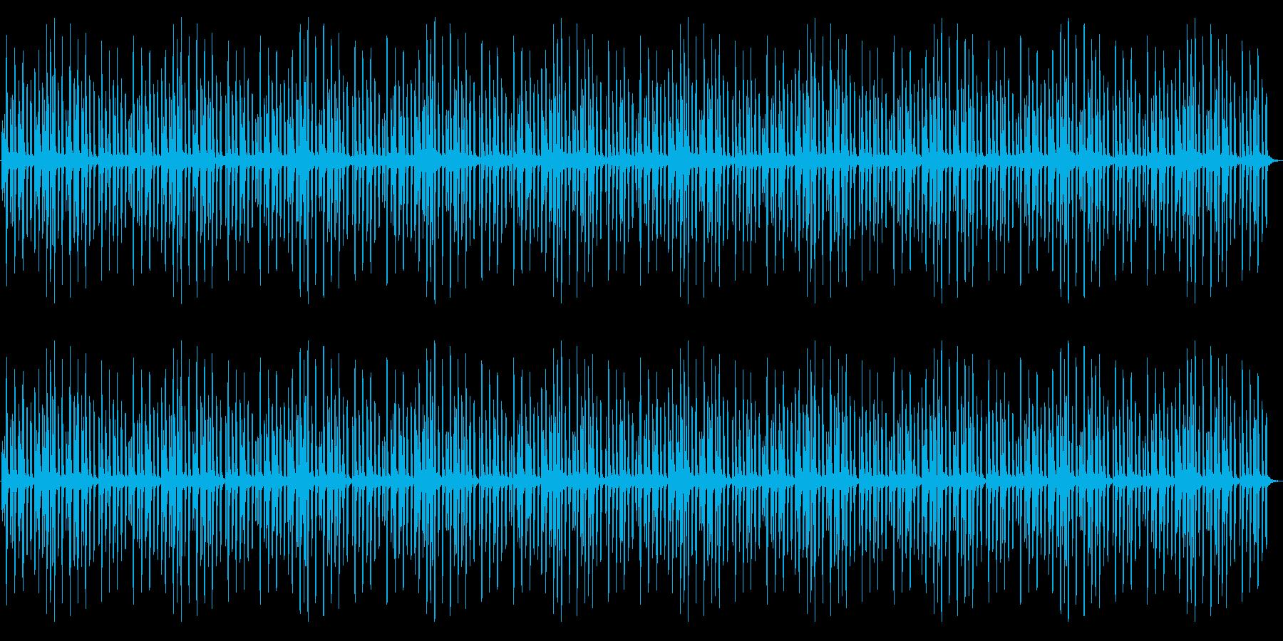 マリンバ音色による、とても可愛いメロディの再生済みの波形