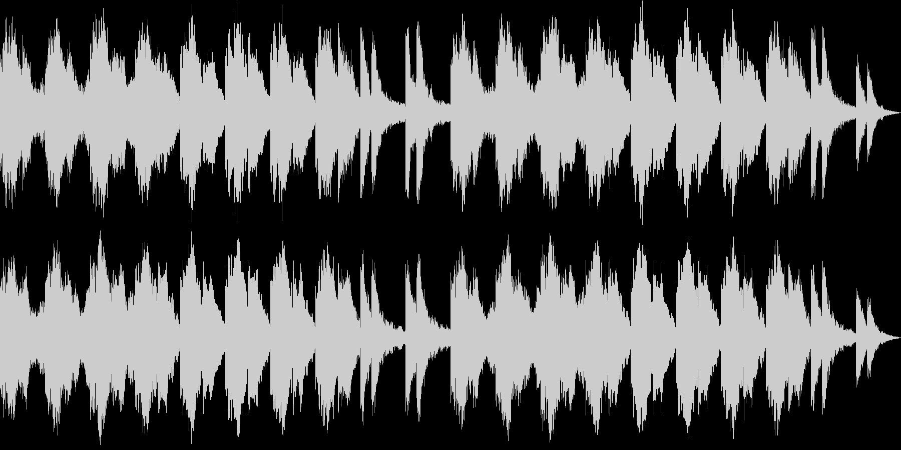 ファンタジーRPGのダンジョンをイメー…の未再生の波形