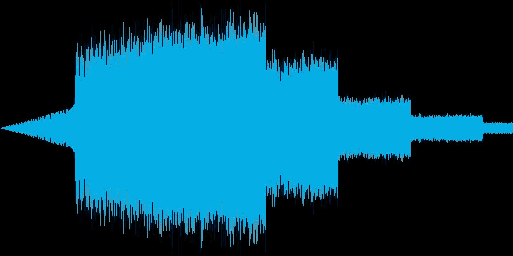 【ギュイーン】アプリ、パワーアップ音の再生済みの波形