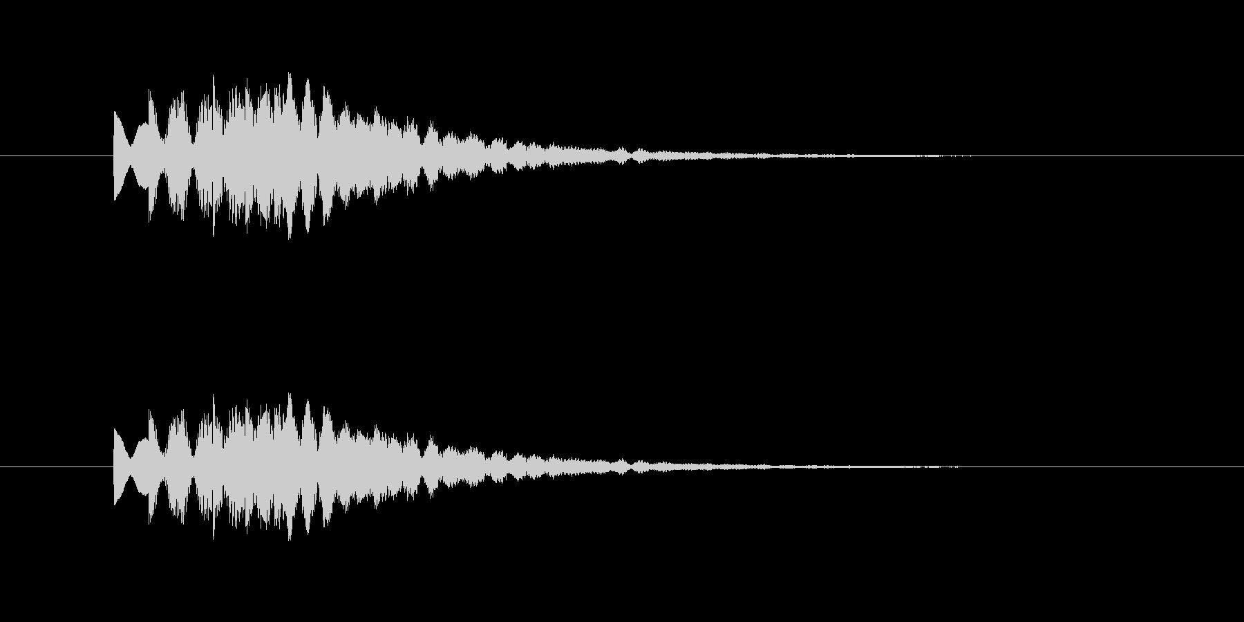 ピロリロリン(透明感、爽やか)の未再生の波形