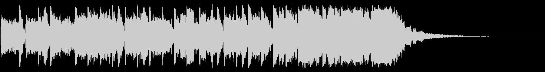 トイピアノのエレクトロニカポップの未再生の波形