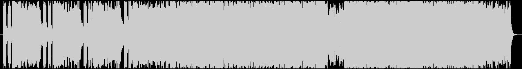 ポストロック風短めインストの未再生の波形