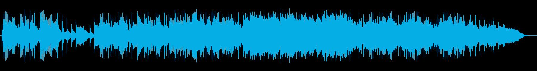 甘く切ないピアノバラードの再生済みの波形