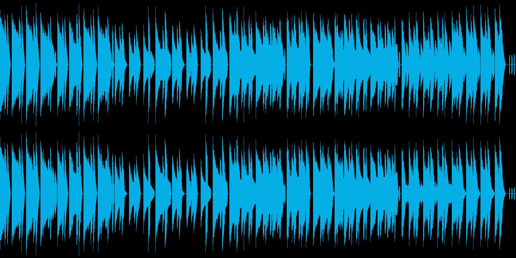 レトロゲーム風・小悪魔・小悪党・ループの再生済みの波形