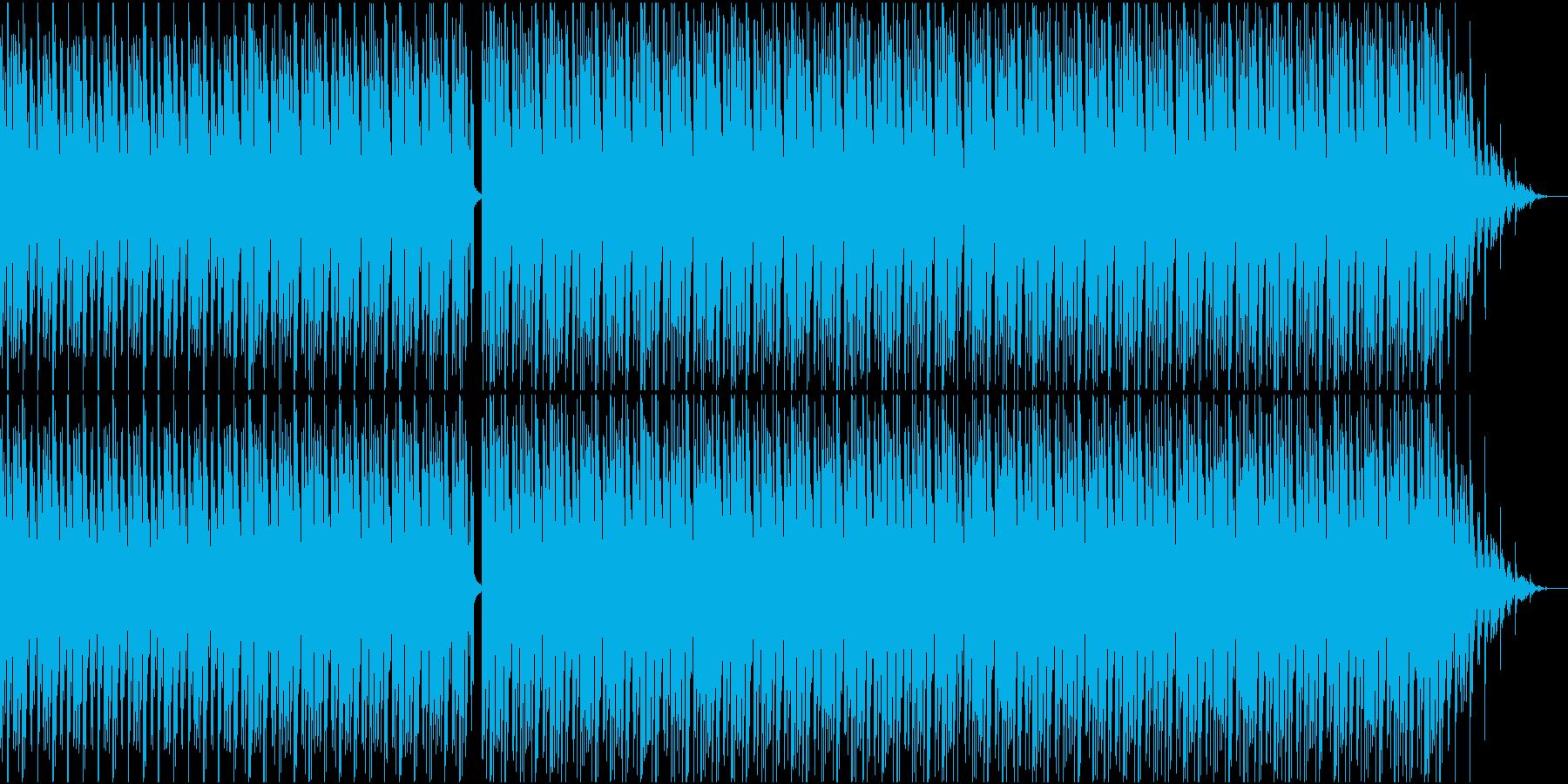 地下を這うようなテクノの再生済みの波形