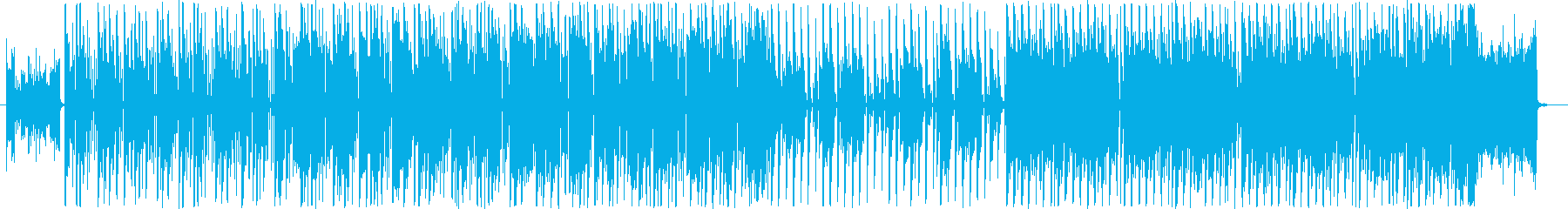 16を基調にしたクラブサウンドの再生済みの波形