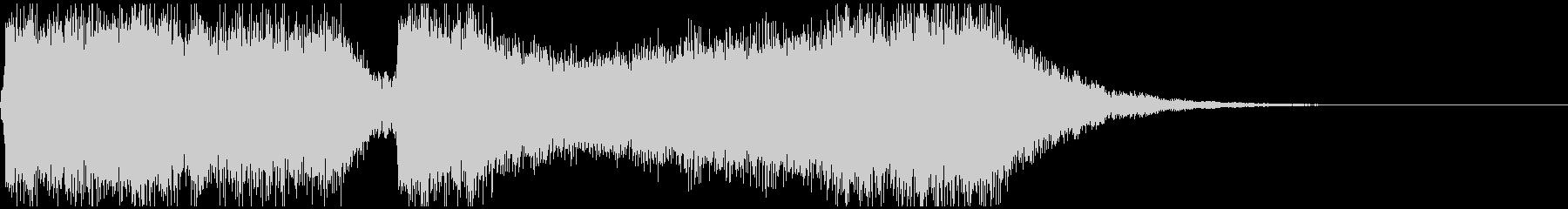 巨大怪獣/戦艦登場シーンの超重厚な曲2の未再生の波形
