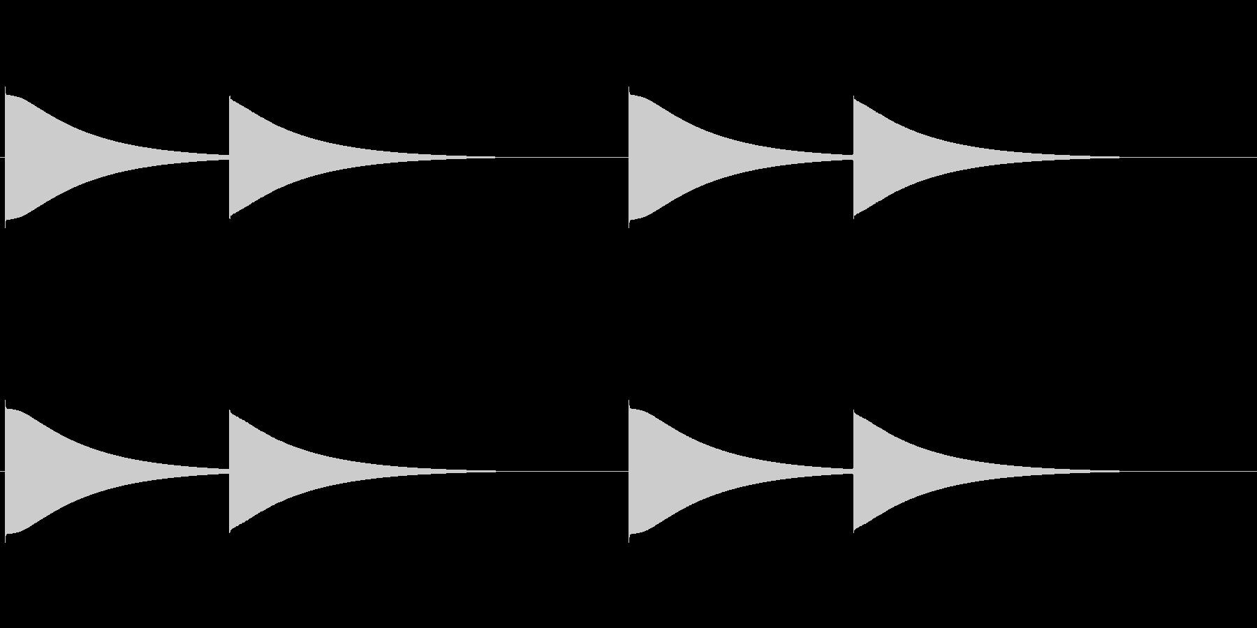 【改札 誘導音01-1L】の未再生の波形