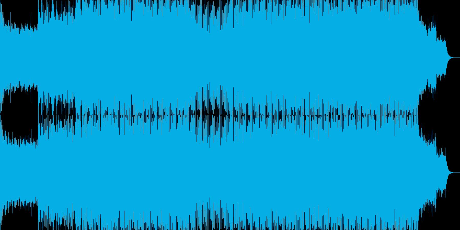 EDMクラブ系ダンスミュージック-67の再生済みの波形