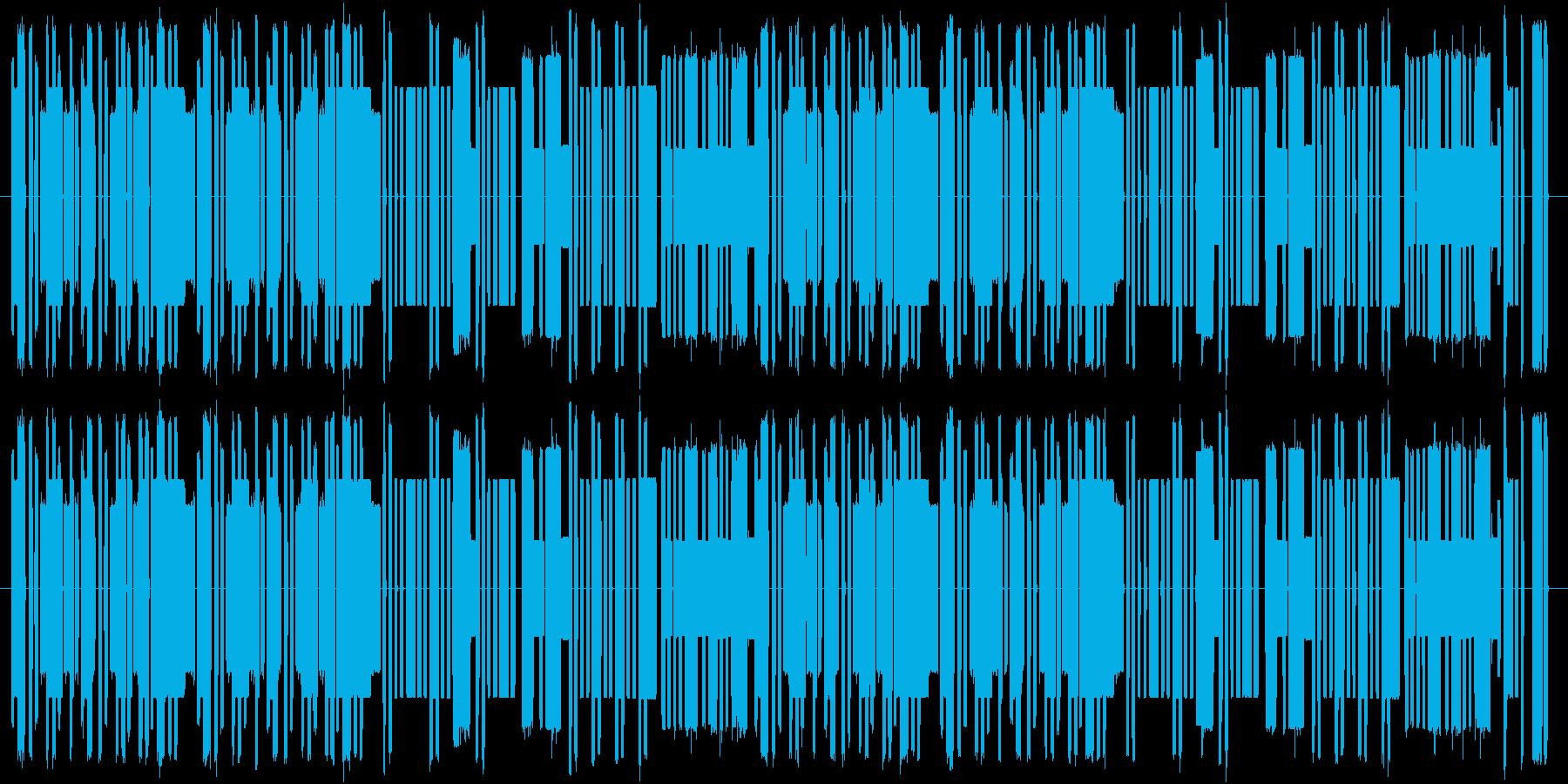 怪しくコミカル8bitの再生済みの波形