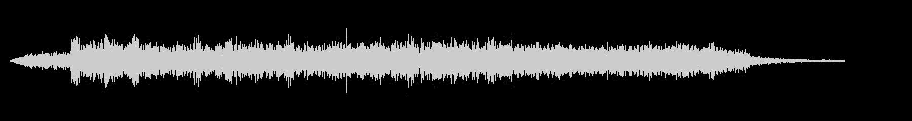 高音質♪ロックアップジングルの未再生の波形