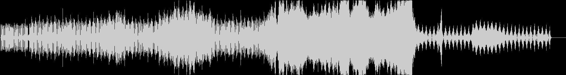 【オーケストラ】シンセループから壮大への未再生の波形