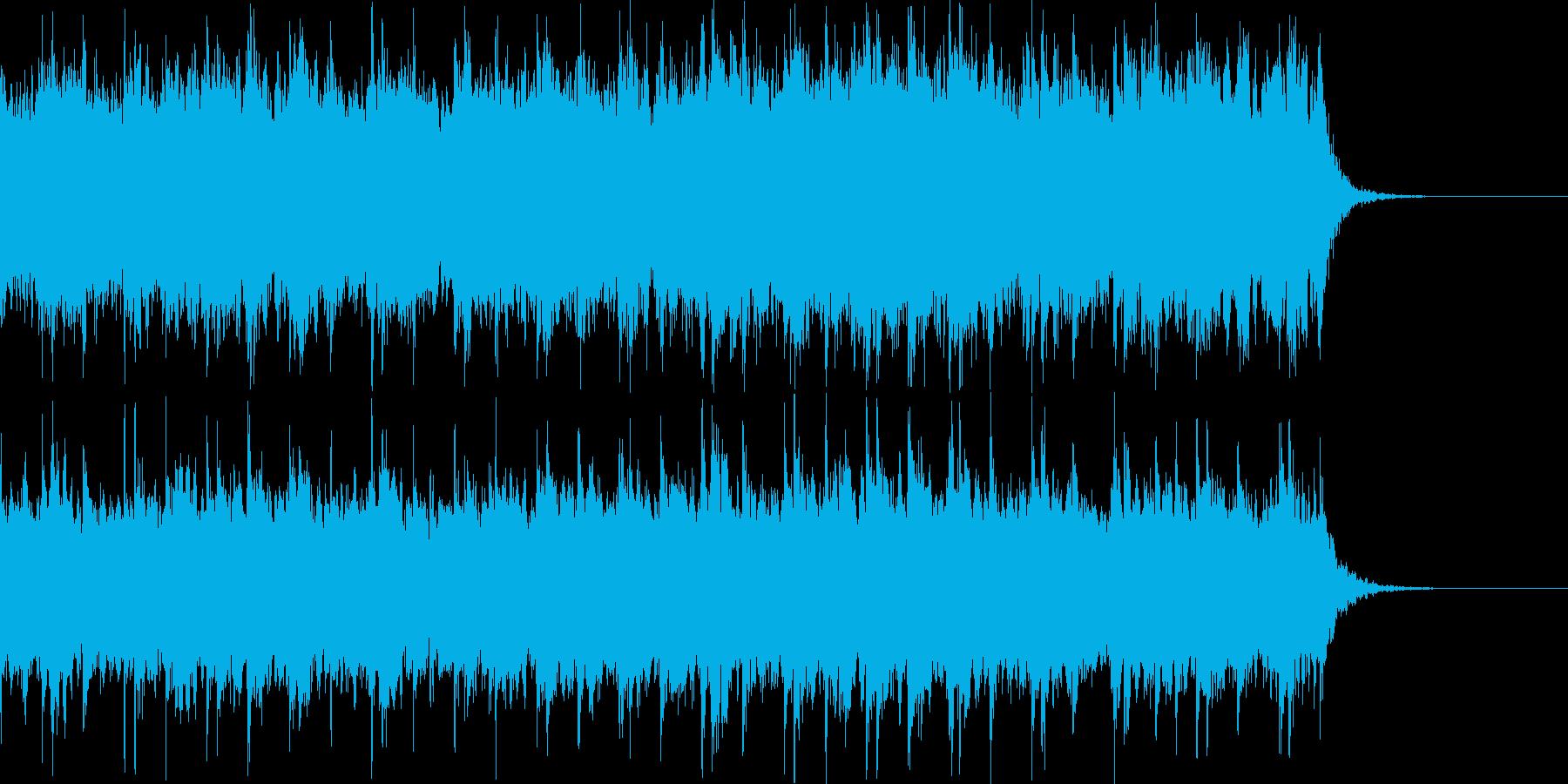 緊張感のあるオーケストラサウンドの再生済みの波形