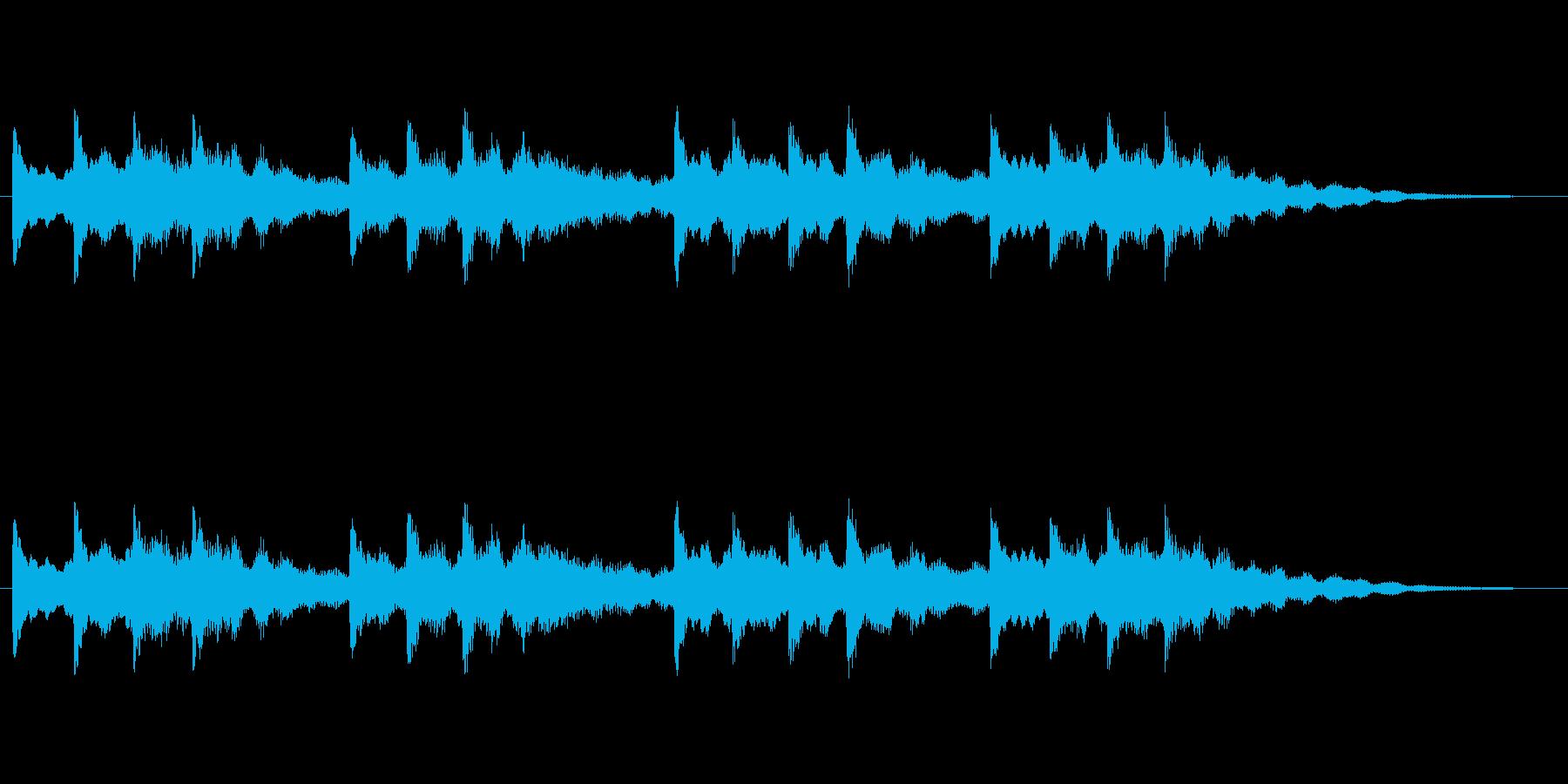 【チャイム 学校03-04】の再生済みの波形