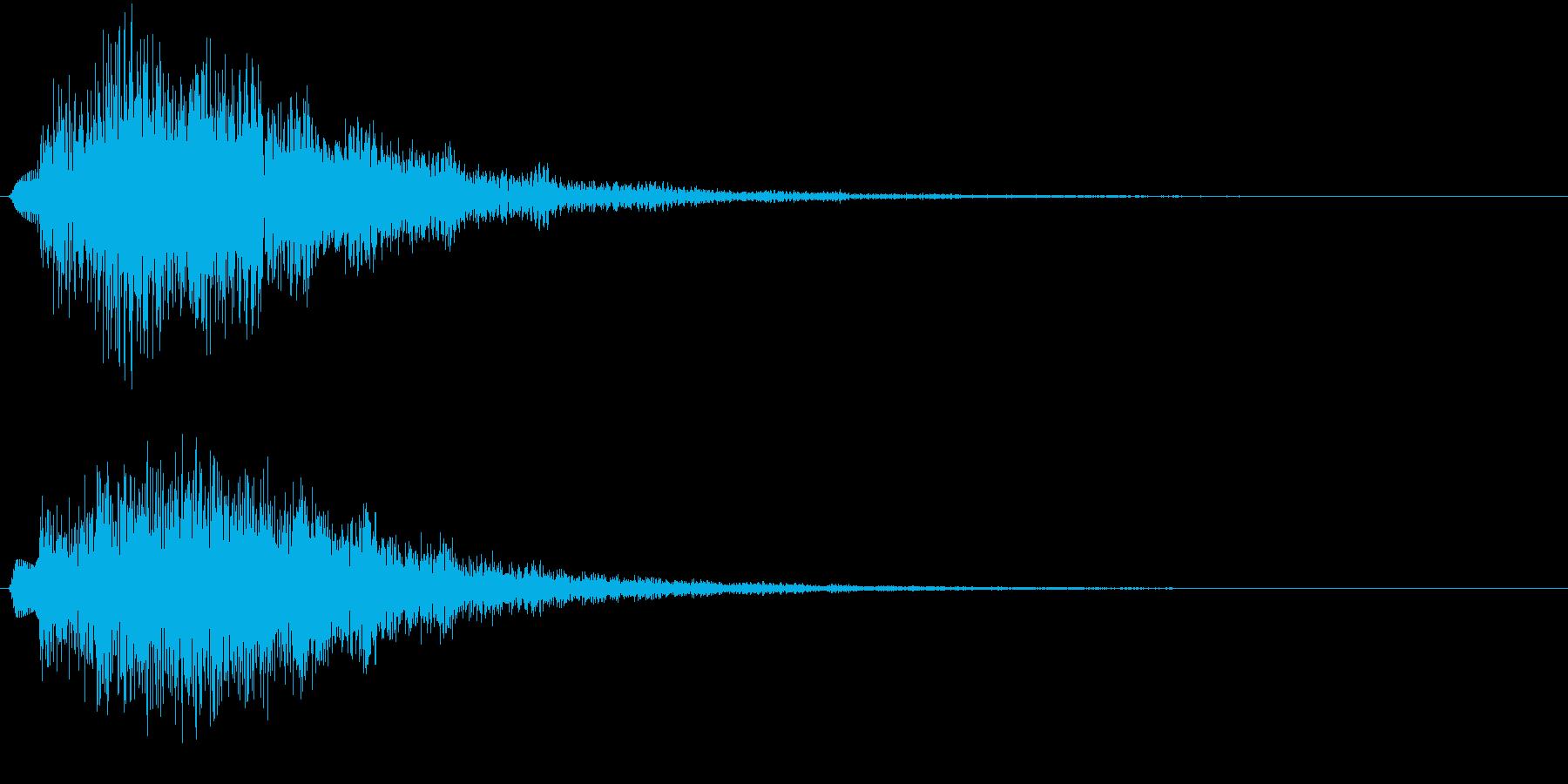 クォーン(サウンドロゴ、決定、ゲーム)の再生済みの波形