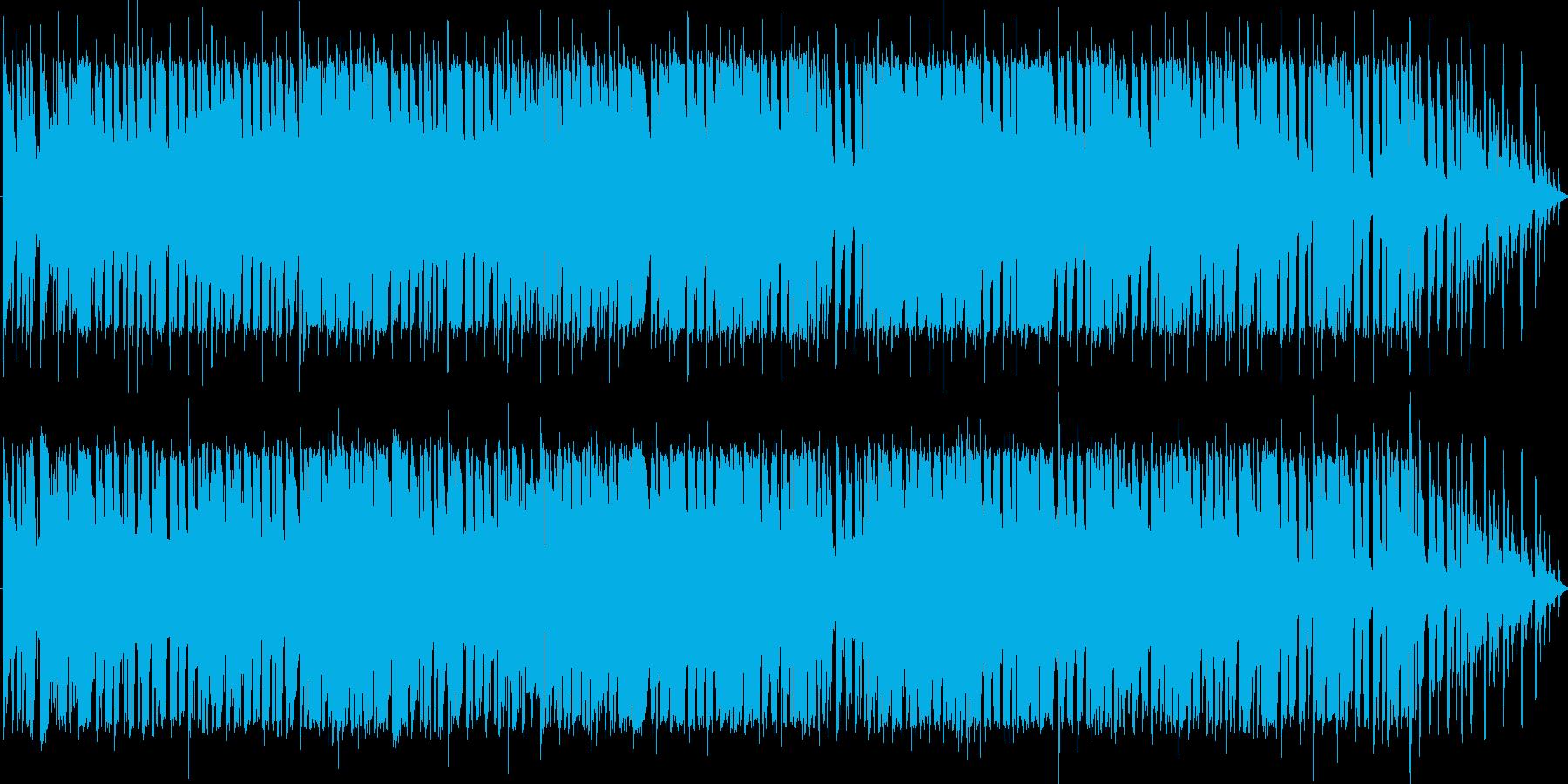 さわやかなフュージョンの再生済みの波形