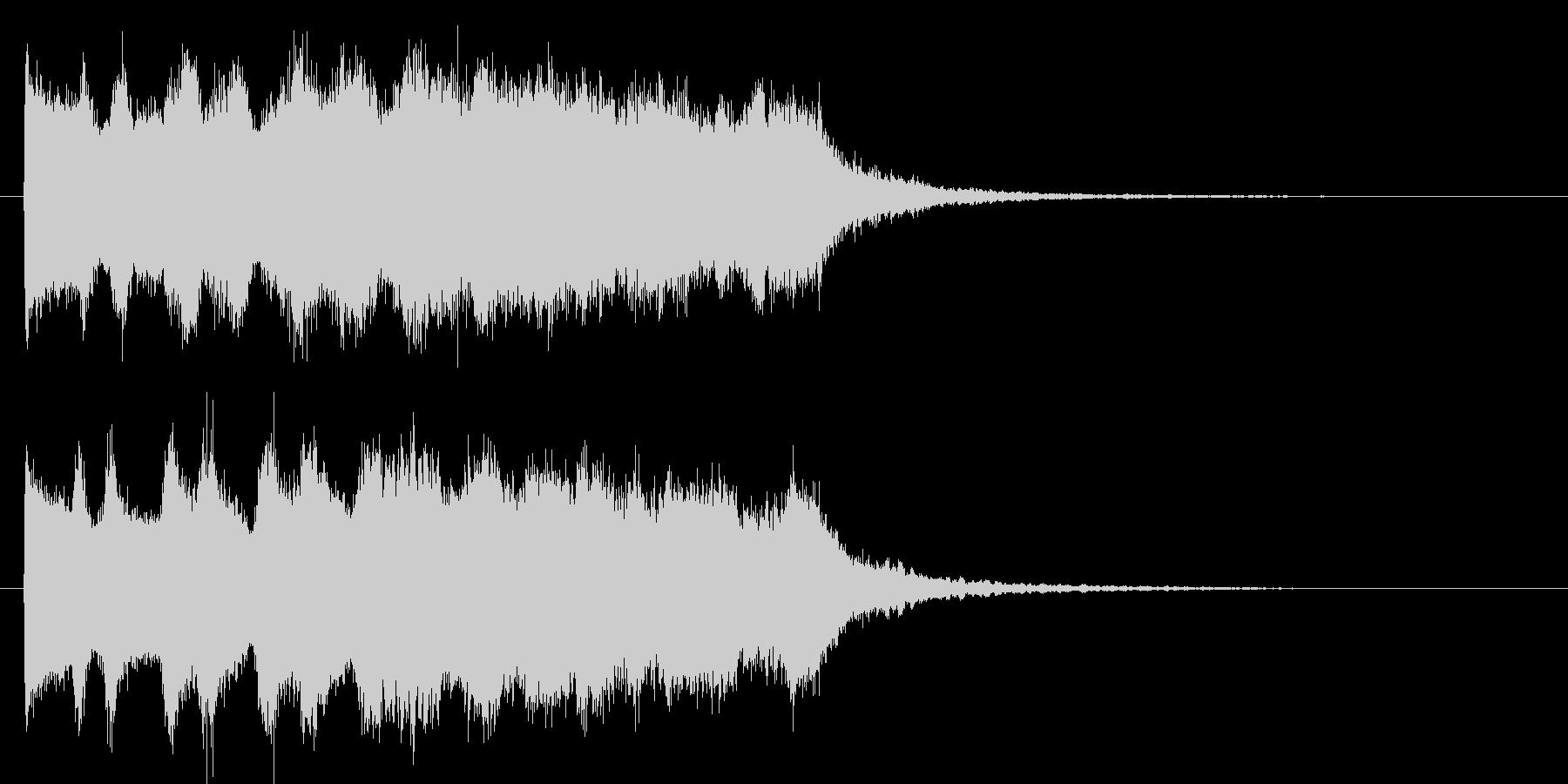 ピュゥゥゥゥゥ(魔法音)の未再生の波形