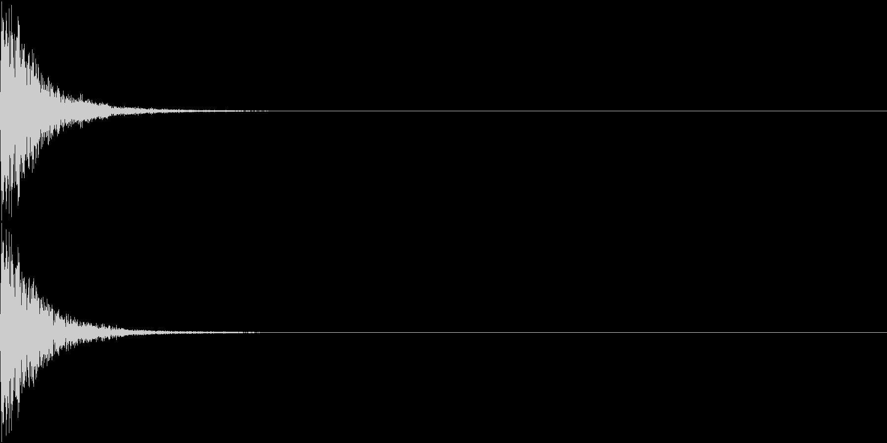 KAKUGE 格闘ゲーム戦闘音 35の未再生の波形