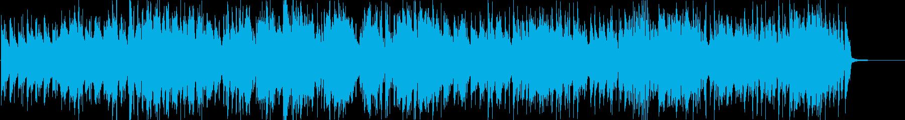 【ジャズ】映像系 陽気でアダルトな曲の再生済みの波形