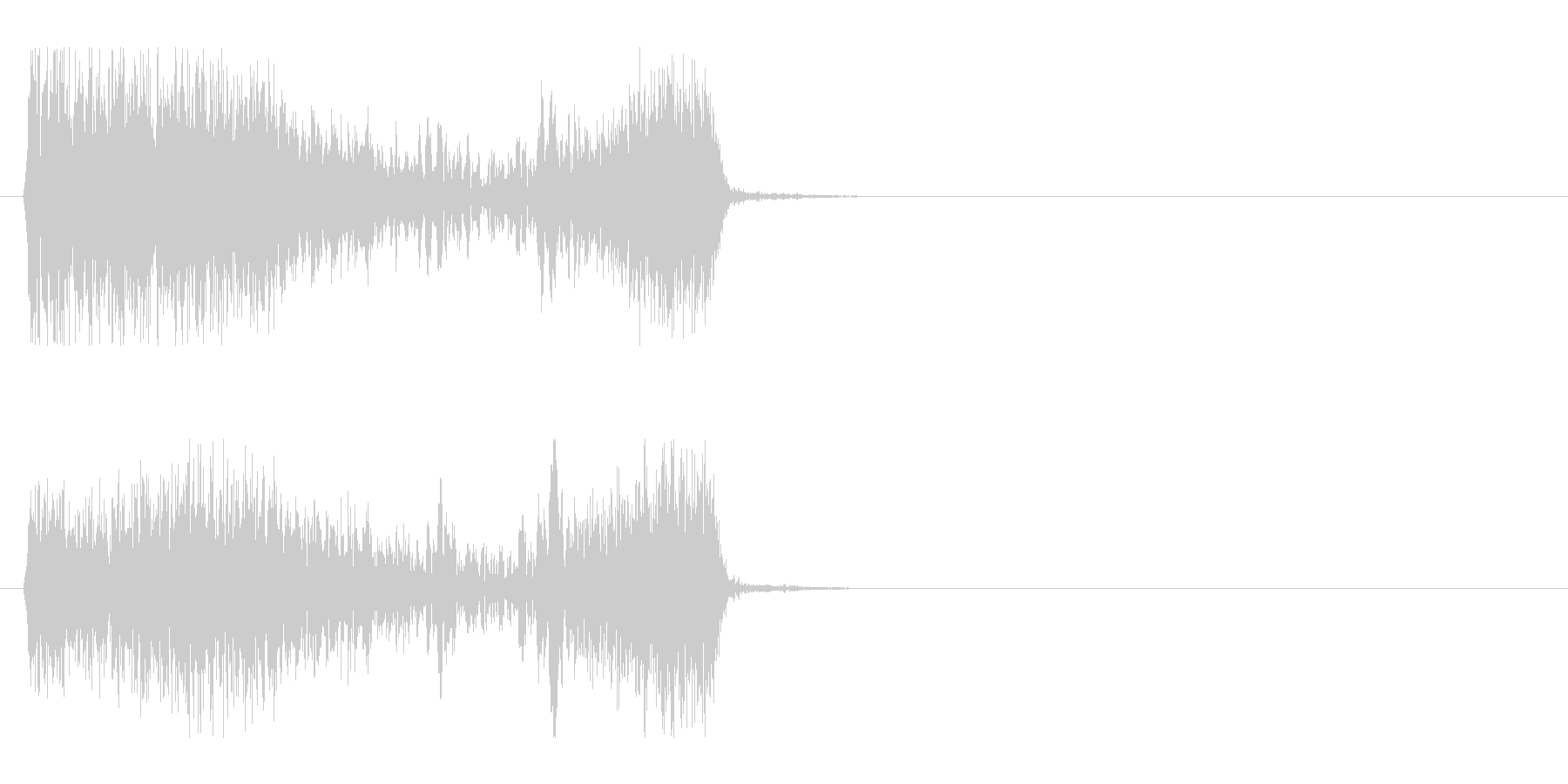 SF 移動音 6の未再生の波形