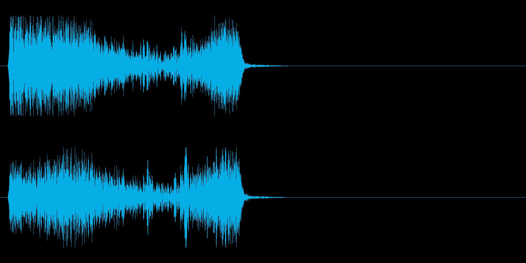 SF 移動音 6の再生済みの波形