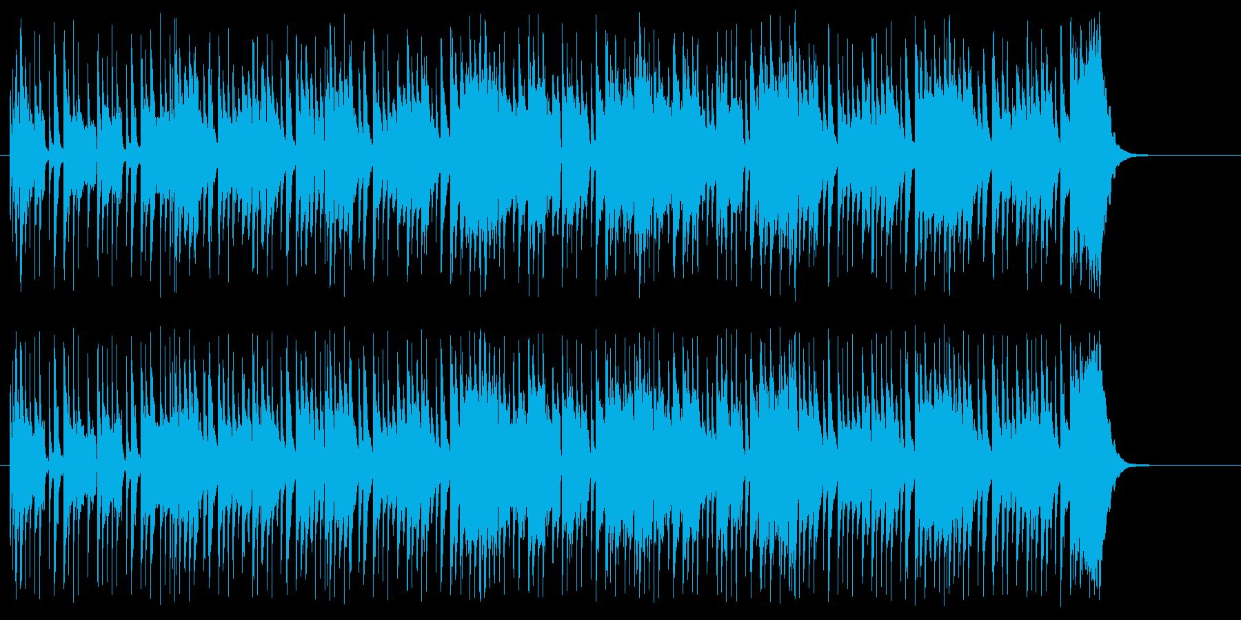 戯れのエレクトリック・ポップスの再生済みの波形