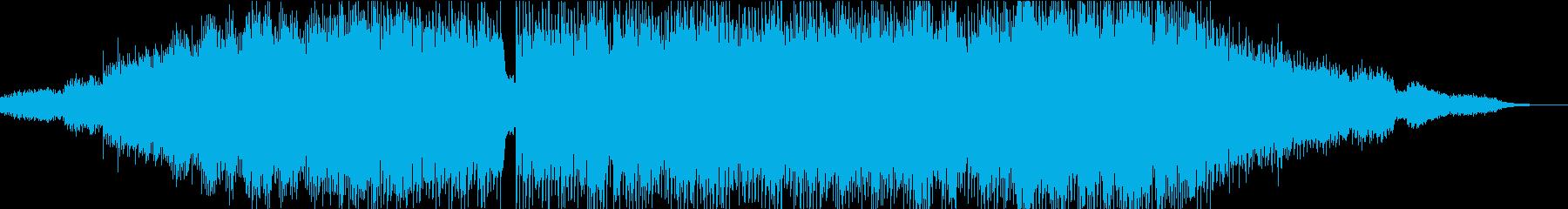 解放感のあるチルアウト音楽の再生済みの波形