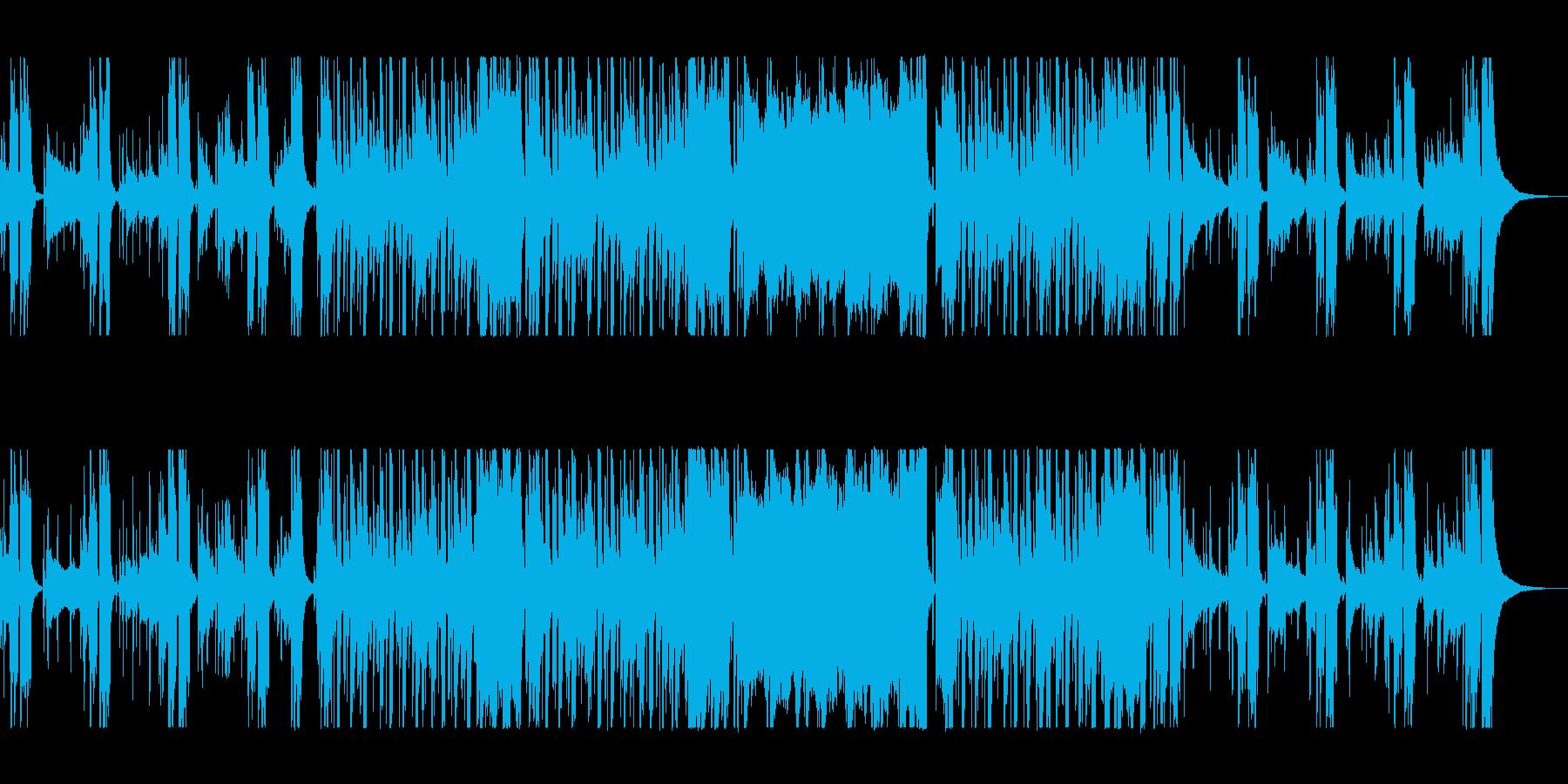 大人ワイルドな渋いジャズの再生済みの波形