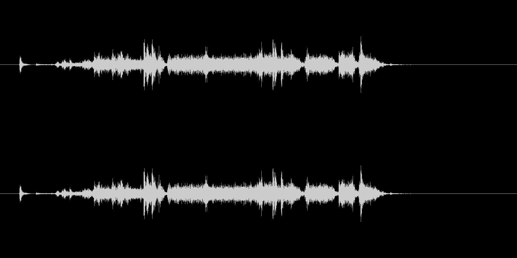 【プリンター01-2】の未再生の波形
