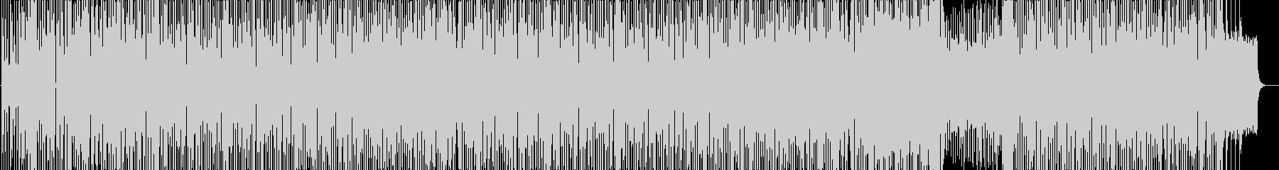 ユーロビート風のゆったりとしたポップスの未再生の波形