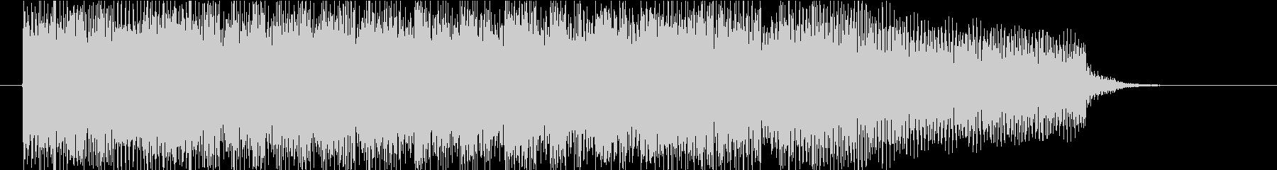 サウンドロゴ(エレキピアノ・発車メロ風)の未再生の波形