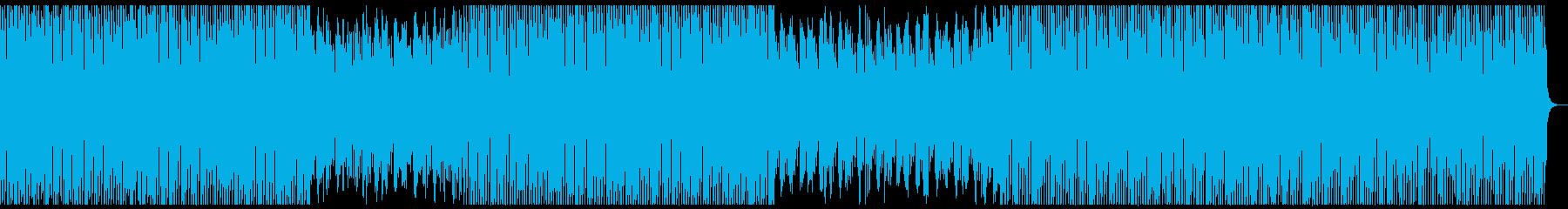 オシャ4つ打ち、スタイリッシュ雰囲気系8の再生済みの波形