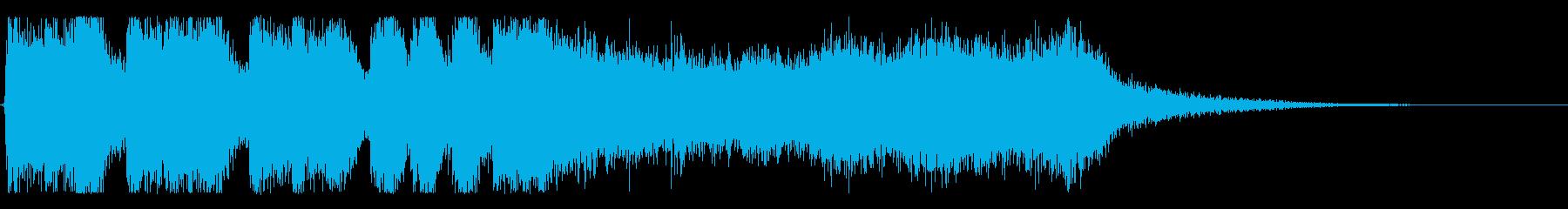 【大当たり!1】の再生済みの波形
