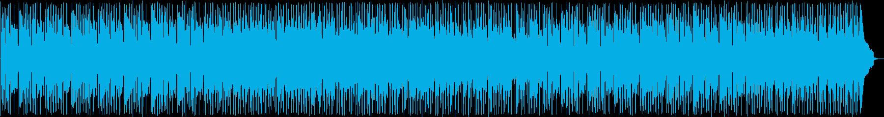 ファンタジーなシンセポップサウンドの再生済みの波形