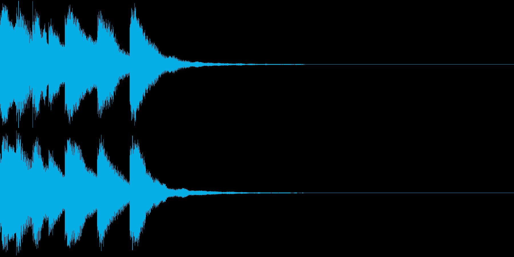 シンプル ベル チャイナ 中国風 12の再生済みの波形