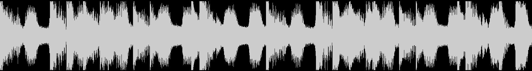 Dubstep bpm140Loopの未再生の波形
